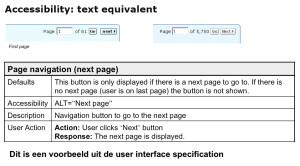 Voorbeeld hoe alt tekst in de UI-spec word vastgelegd