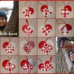 Kertskaart Vreugdevolle kerst en Liefdevol 2012