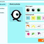 avatar bewerkingsscherm
